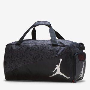 NWT Jordan Jumpman Duffle Bag in Black